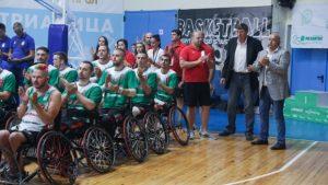 Кралев откри Европейското първенство по баскетбол на колички
