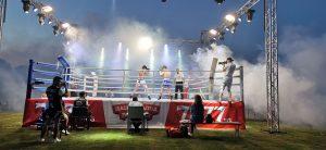 Кикбокс срещи се играха на градския стадион в Козлодуй