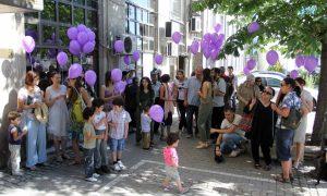 Родители на деца, болни от рак, излизат на протест