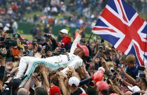 Хамилтън стана за рекордния шести път победител в родината си