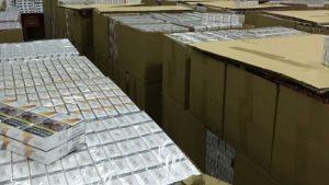 Задържаха близо 250 хил. кутии контрабандни цигари в района на ГКПП Кулата