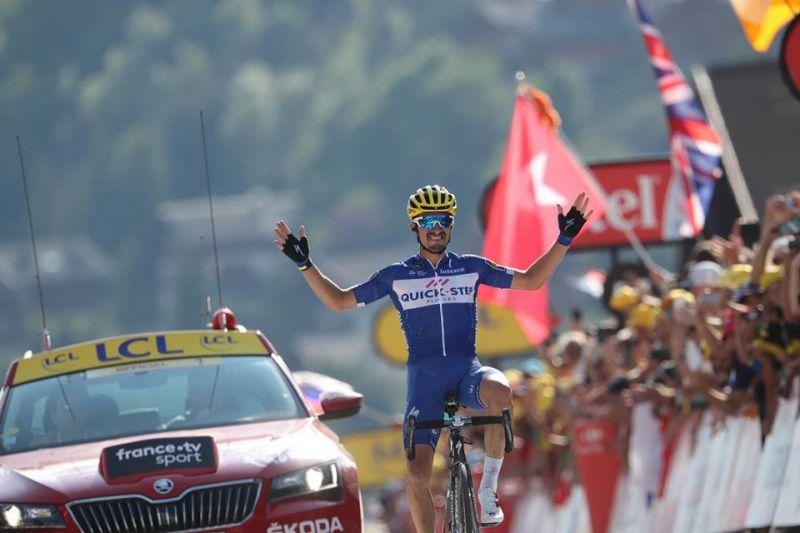 Алафилип спечели третия етап на Тура и грабна жълтата фланелка