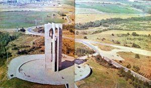 """Как преди 40 лета бе построен монументът """"Знаме на мира"""""""