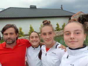 Девойките до 16 г. победиха Естония на Европейската лятна купа на Украйна