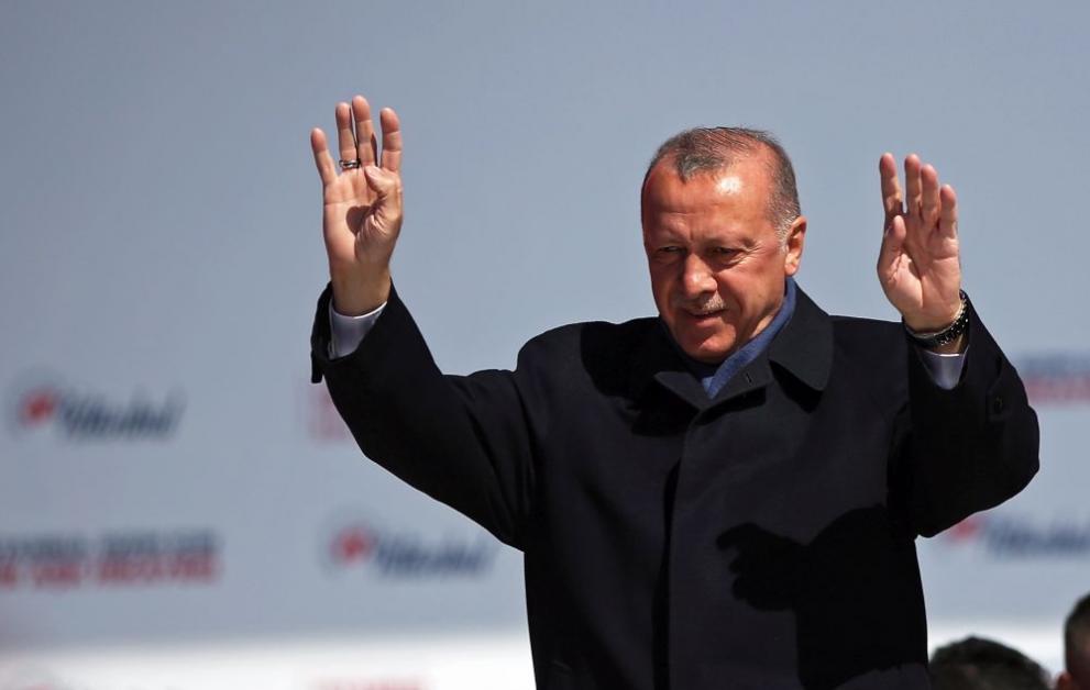 Ердоган положи камък на християнски храм в Истанбул