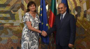 Емилия Кралева се срещна с председателя на кипърския парламент Димитрис Силурис