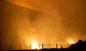 Две са основните версии за пожара на гръцкия остров Евия
