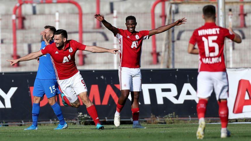 ЦСКА стигна до трите точки срещу Арда