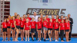 Стотици деца се включиха в спортния панаира #BeActive