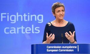 Напастта за САЩ Маргрете Вестагер получи повишение в новата Европейска комисия