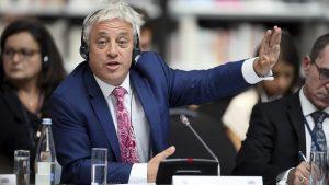 Председателят на британския парламент Беркоу се оттегля от поста на 31 октомври