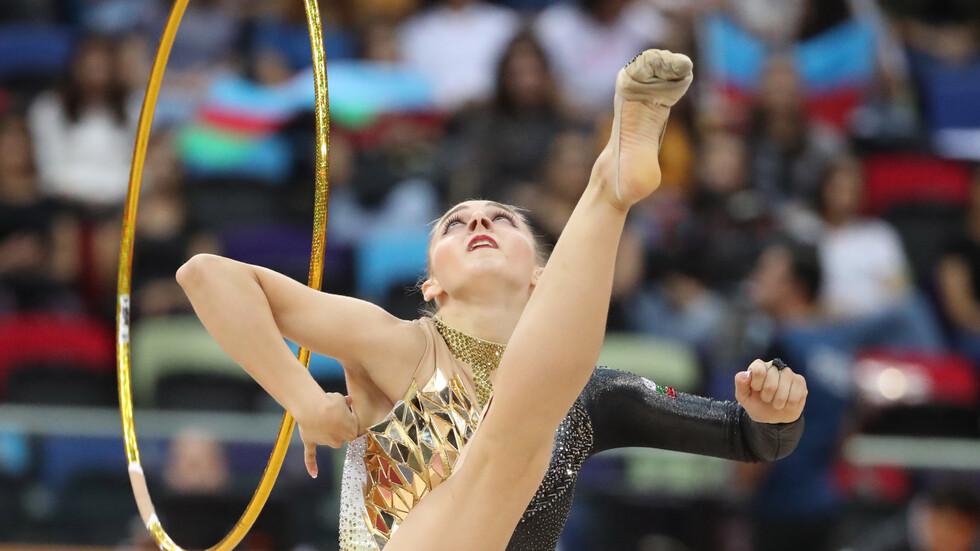 Боряна Калейн с две пети места на Световното в Баку