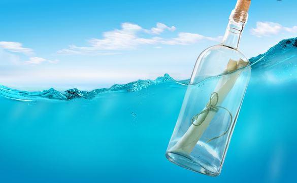 Зов за помощ в бутилка спаси трима от плен на водопад