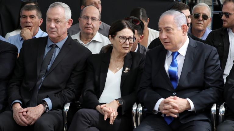 Ганц отказва обединение с Нетаняху