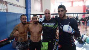 Френски боец с подготовка в България преди дебюта си в UFC