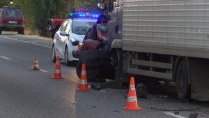 Жена загина при челен сблъсък с камион на пътя Русе-Бяла