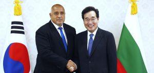 Борисов договори подкрепа за корейските инвестиции в България