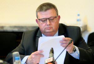 Цацаров: Без съкратено производство при умишлено убийство или тежка телесна повреда