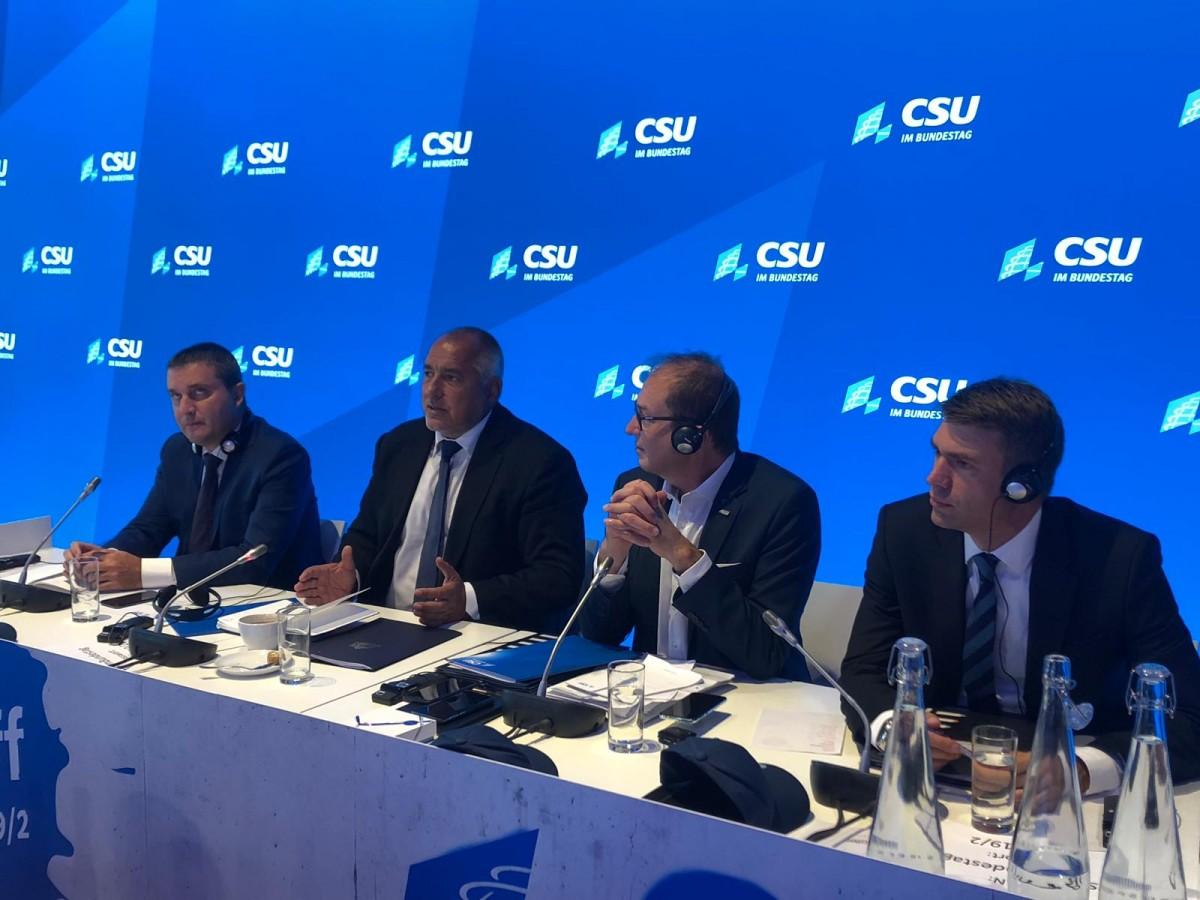 Борисов: Германия е наш стратегически партньор в ЕС и близък сътрудник в НАТО