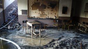 3 000 тома книги изгоряха при пожар в читалище край Кюстендил
