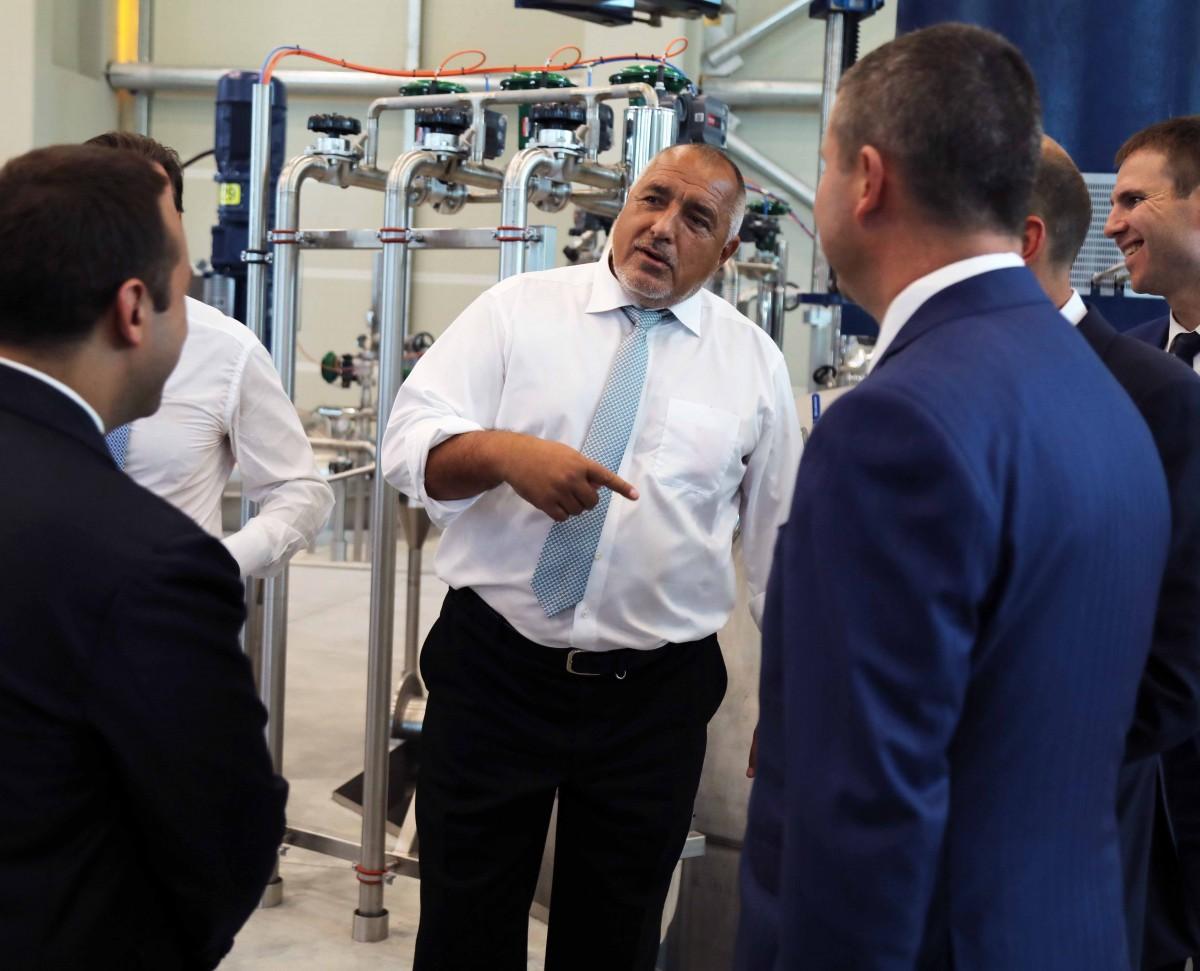 Борисов: Всеки ден се откриват заводи, държим над 3% ръст на икономиката