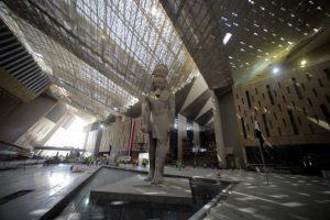 Приключва строежът на Големия египетски музей в Гиза