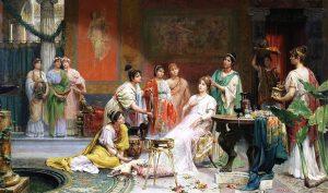 Украшения от времето на Римската империя се оказаха инструменти за гримиране