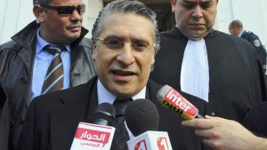Кандидатът за президент на Тунис Набил Каруи: освободен от затвора