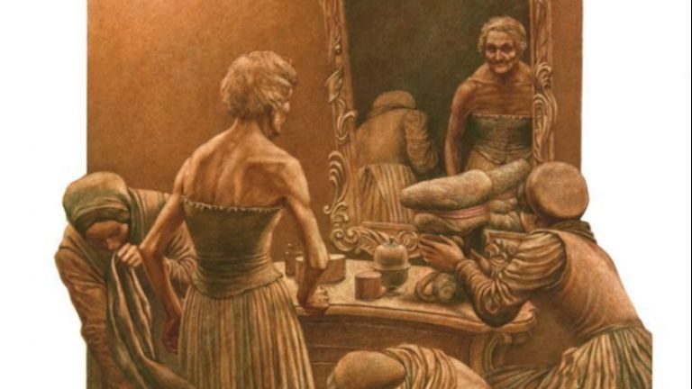 Илюстрации от Ясен Гюзелев по Жул Верн и Пушкин