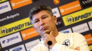Балъков: Поднасям своите извинения на английските футболисти