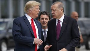 Тръмп призова Ердоган да спре инвазията в Сирия