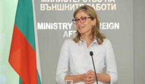 Захариева ще разговаря с колегата си от Словакия Мирослав Лайчак