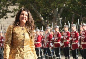 Гвардейската рота посрещна посланиците на САЩ и Гърция