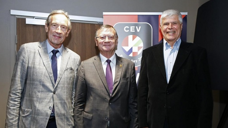 Златанов и други волейболни звезди от миналото бяха почетени от ЦЕВ