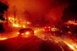 Няма пострадали български граждани при пожара в окръг Сонома, Северна Калифорния