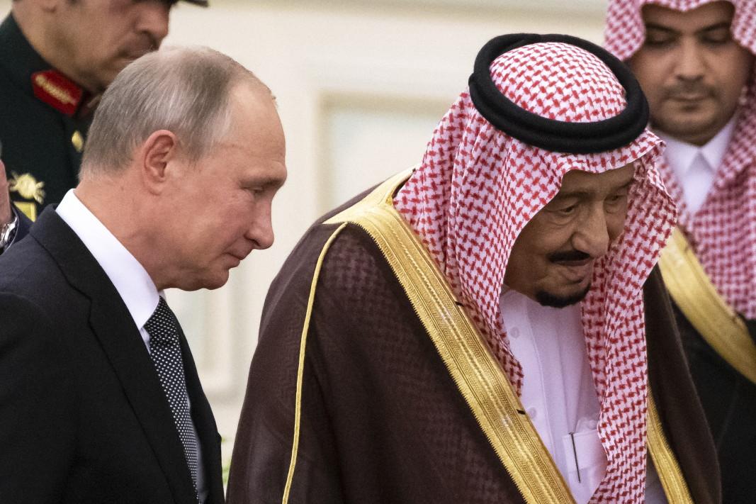 Президентът Путин е в Саудитска Арабия