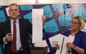 vЦИК представи образците на бюлетините за местния вот