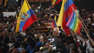 Протестите в Еквадор взеха седма жертва