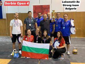 Локомотив Be Strong кетълбел с чудесно представяне на Сърбия опън 4 2019