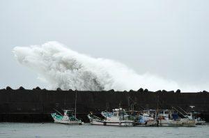 Максимална степен на опасност обявиха в Токио и още 6 префектури заради тайфуна Хагибис