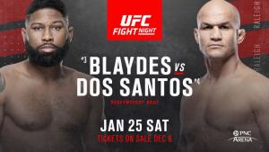 Официално: Блейдс срещу Дос Сантос в края на януари