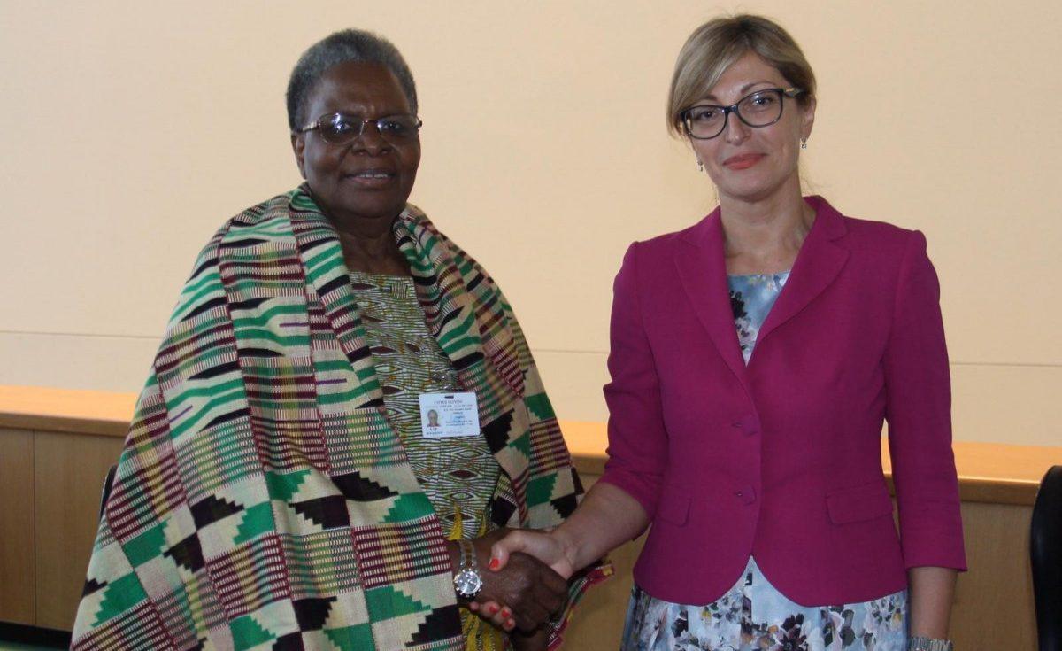 Започна официалното посещение на Захариева в Намибия
