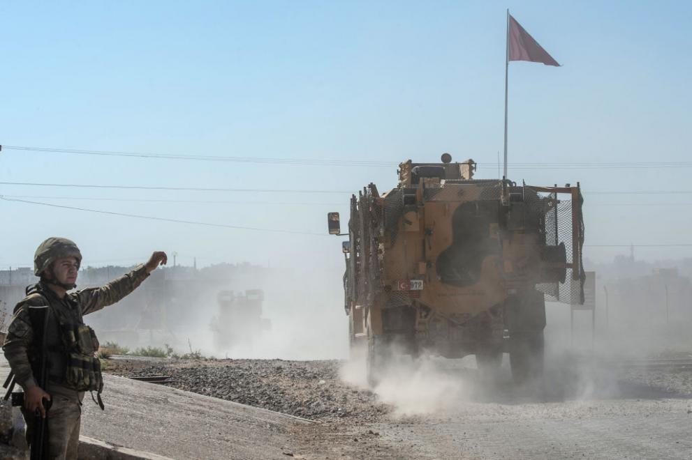 Американски военни са били обстрелвани в Сирия