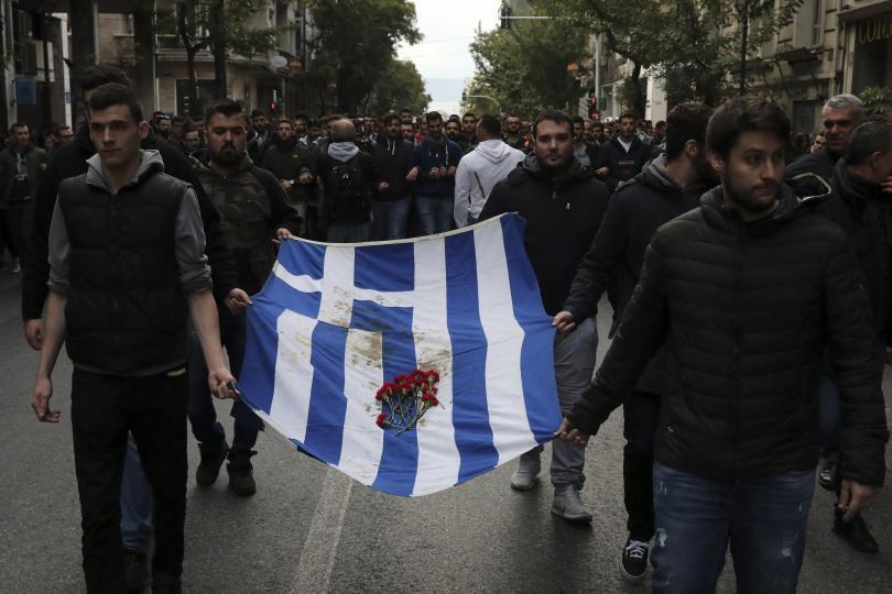 Хиляди гърци отбелязаха годишнина от бунта срещу хунтата