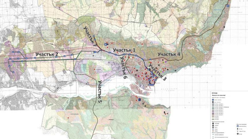 """С месец и половина закъснение във Варна беше представено предварително проучване за """"леко метро"""""""