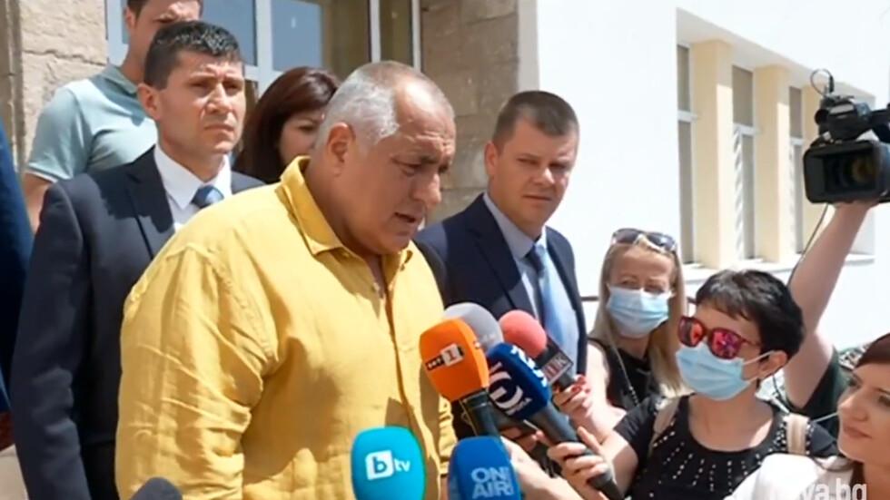 Борисов: Гласувах за единствената демократична партия