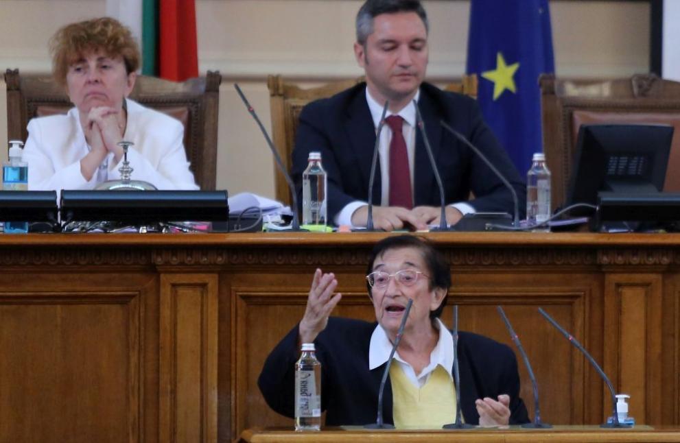 Мика Зайкова за отиващия си парламент: Това не е работа, момчета