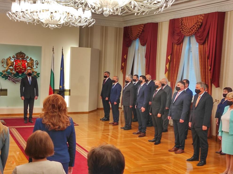Новото служебно правителство положи клетва пред президента