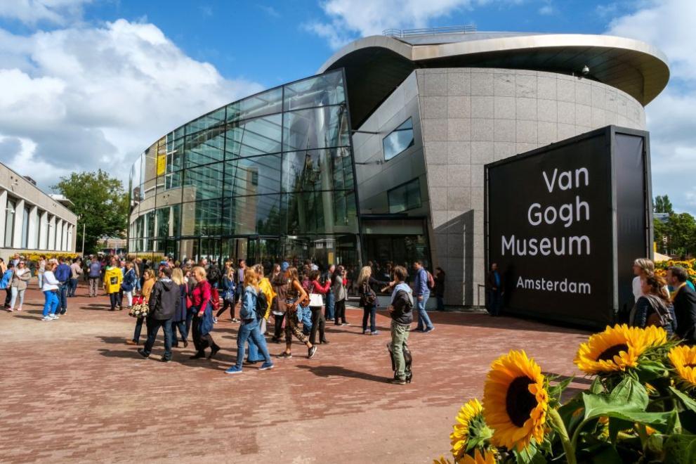 Невиждана рисунка на Ван Гог видя бял свят