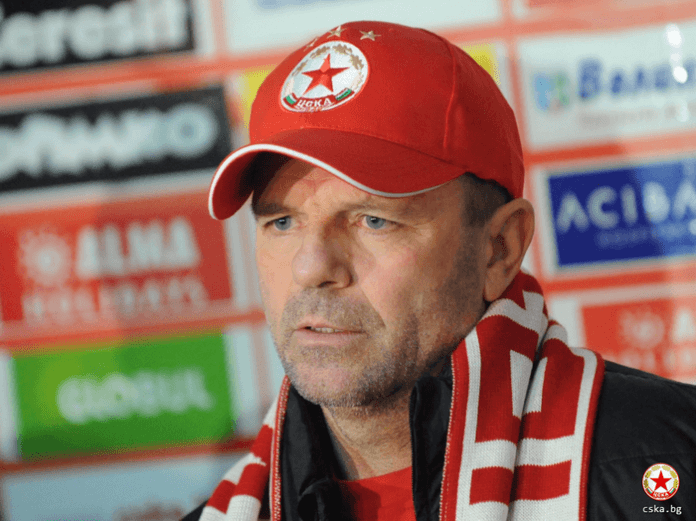 Стойчо Младенов: Ако постигнем положителен резултат, в цяла Европа ще се говори за ЦСКА